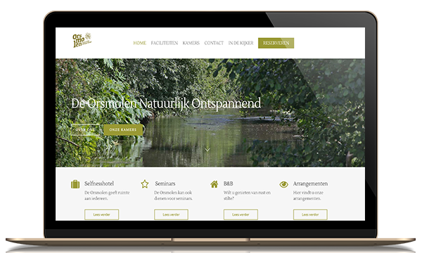 Orsmolen online reserveringssysteem wordpress Kleidi websites