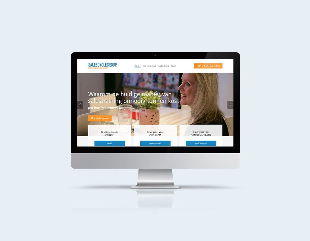 Salescyclegroup calendly website mailblue kleidi