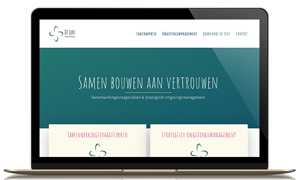 wordpress website de lint consultancy kleidi