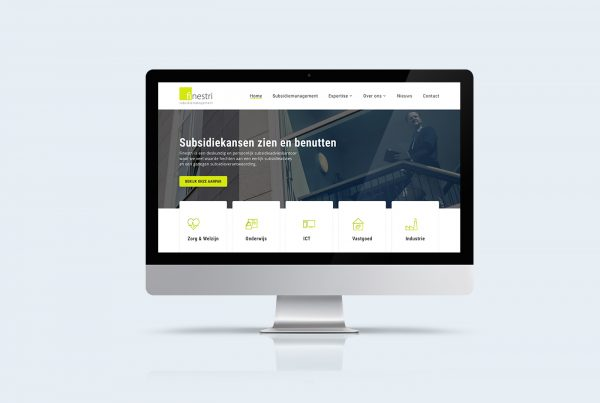 Finestri wordpress website op maat Kleidi