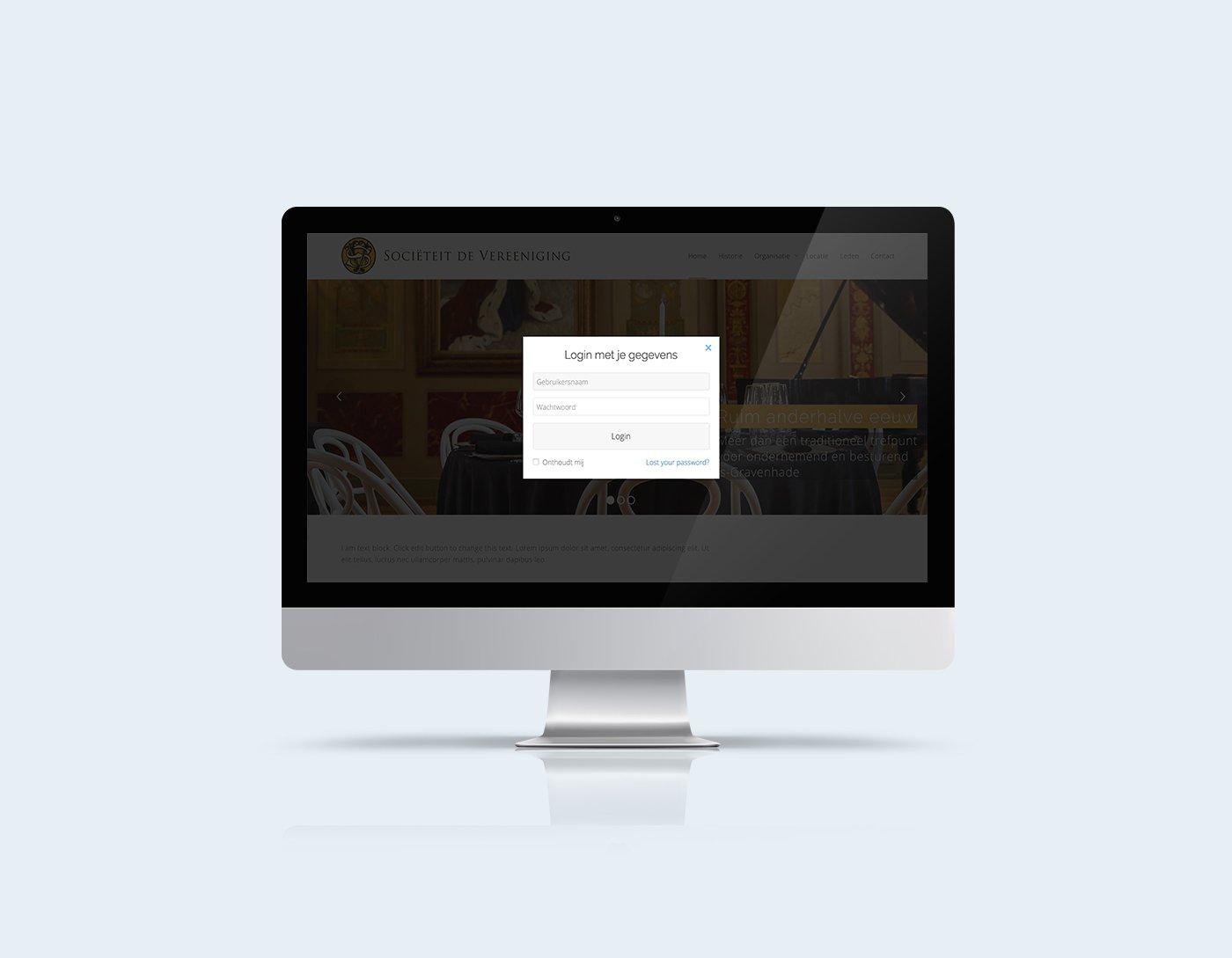 membership website login module kleidi