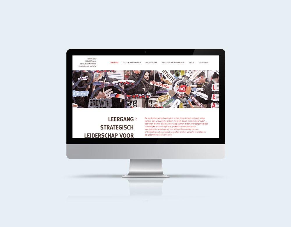 website mailchimp ontwerp leiderschap vrouwelijke artsen wordpress