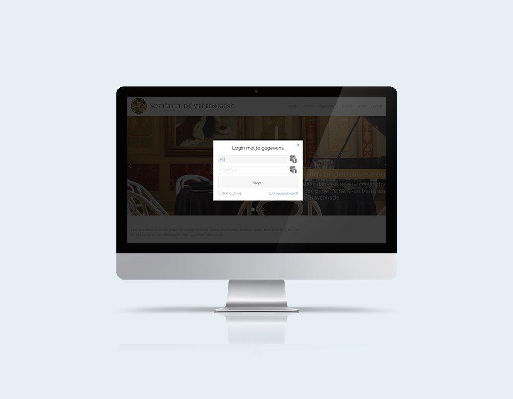 membership website kleidi portfolio login module