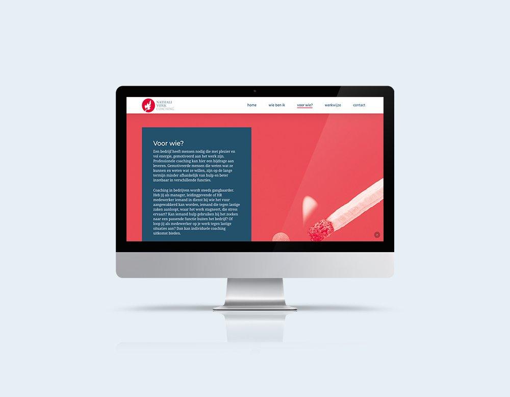 wordpress-onepager website kleidi