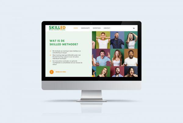 presentatie website kleidi skilled methode