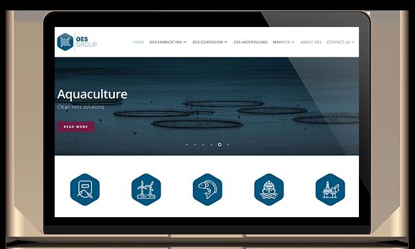 responsive website oes kleidi webdesign