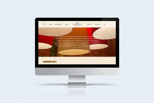 website restaurant wordpress thema captein en co
