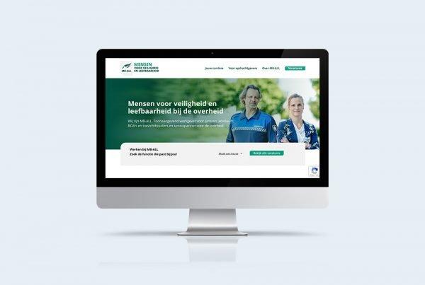nieuwe corporate website